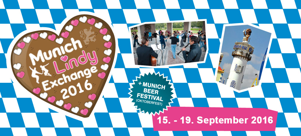 14th Munich Lindy Exchange – September 15th – 19th, 2016