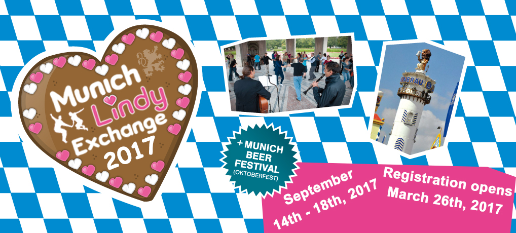 15th Munich Lindy Exchange – September 14th – 18th, 2016